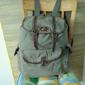 MOSSIMO Army Green Backpack